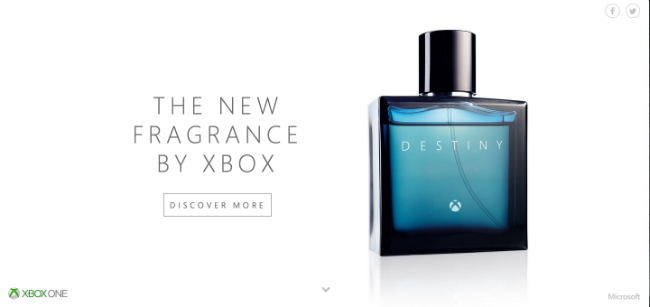 "Microsoft Pokes Fun At Activision With Spoof Destiny ""Fragrance"""