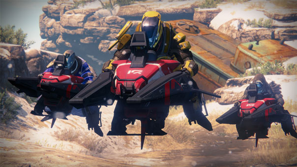 """Sparrow Racing Mini-Game Is One """"Of Many Ideas"""" Bungie Has For Destiny"""