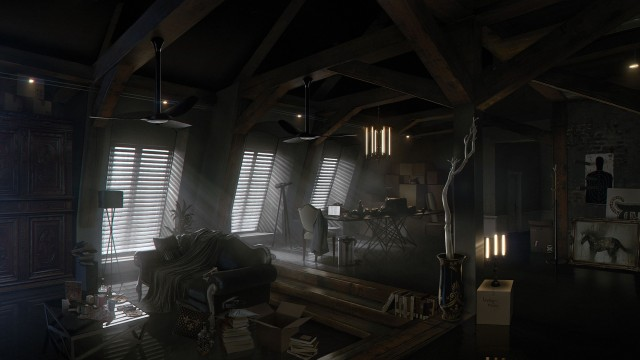 Check Out Adam Jensen's Pad In New Deus Ex: Mankind Divided Artwork