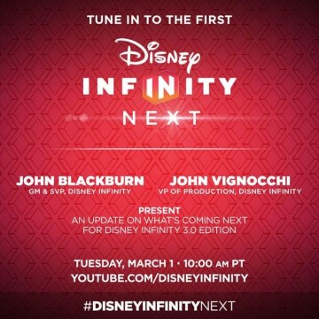 Disney Infinity 3.0 Updates Are On The Way Via A Live Broadcast