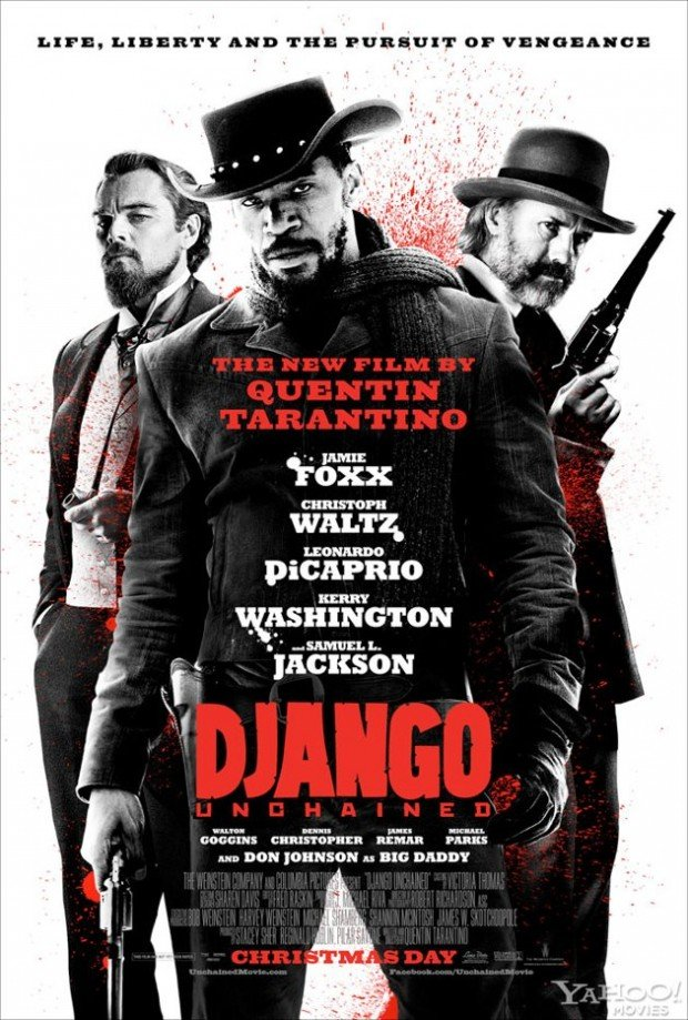 Django Unchained Theatrical Poster Arrives Online