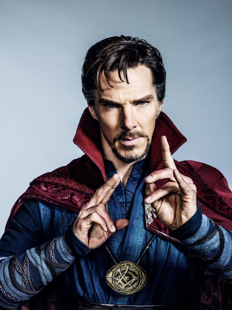 Benedict Cumberbatch Weaves His Magic In New Doctor Strange Image