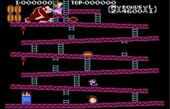 Donkey Kong Jumpman 564x360 Trendsetters: 7 Games Responsible For The Common Gameplay Mechanics We Have Today