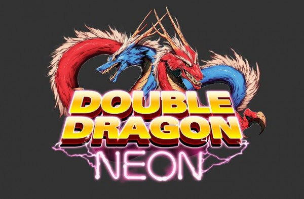 Double Dragon Neon Logo We Got This Covered