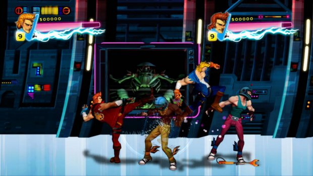 Double Dragon: Neon Now Available For PSN And XBLA