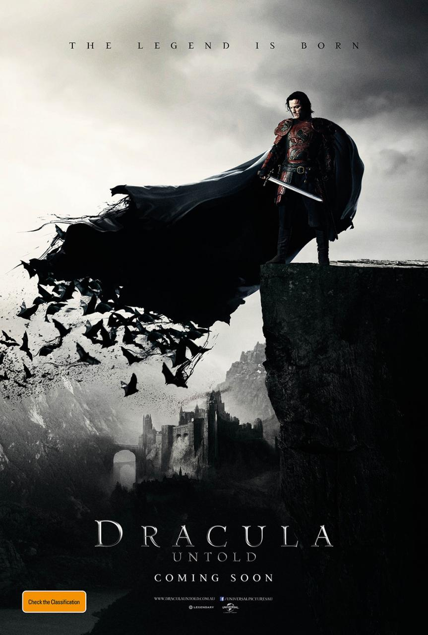Luke Evans Is Totally Batty In First Poster For Dracula Untold