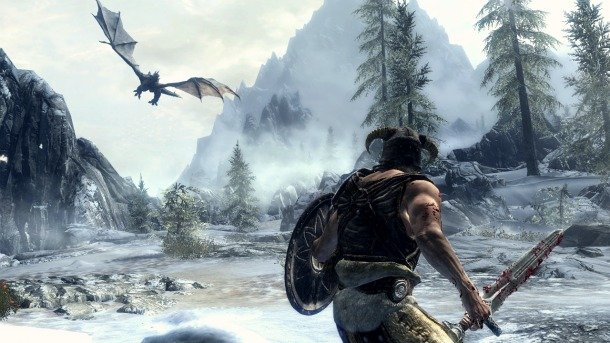 DragonCombat The Elder Scrolls V: Skyrim Legendary Edition Coming This Summer