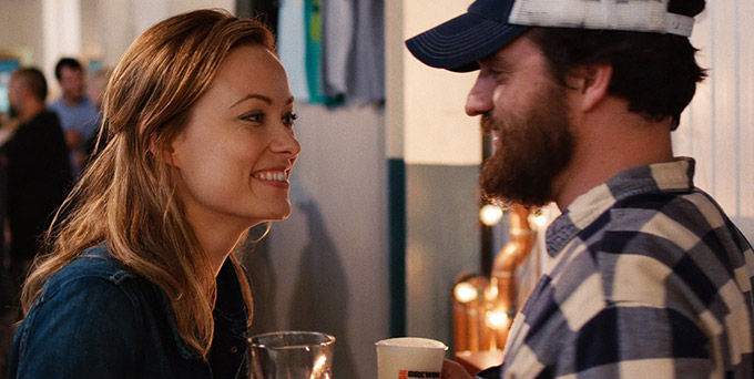 Press Conference Interview With Olivia Wilde And Jake Johnson On Drinking Buddies