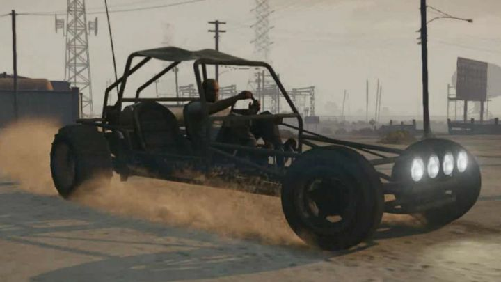 Dune Buggy Bandito en Grand Theft Auto V The 5 Most Insane Things I Did In The First Five Hours Of Grand Theft Auto V