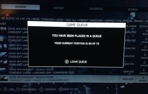 EA server queue1 569x360 5 Reasons Why Titanfall Could Fail (And 5 Reasons Why It Wont)