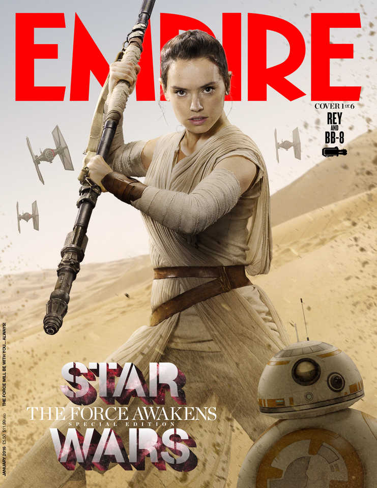 Star Wars: The Force Awakens Empire Covers Spotlight Most Of The Main Characters