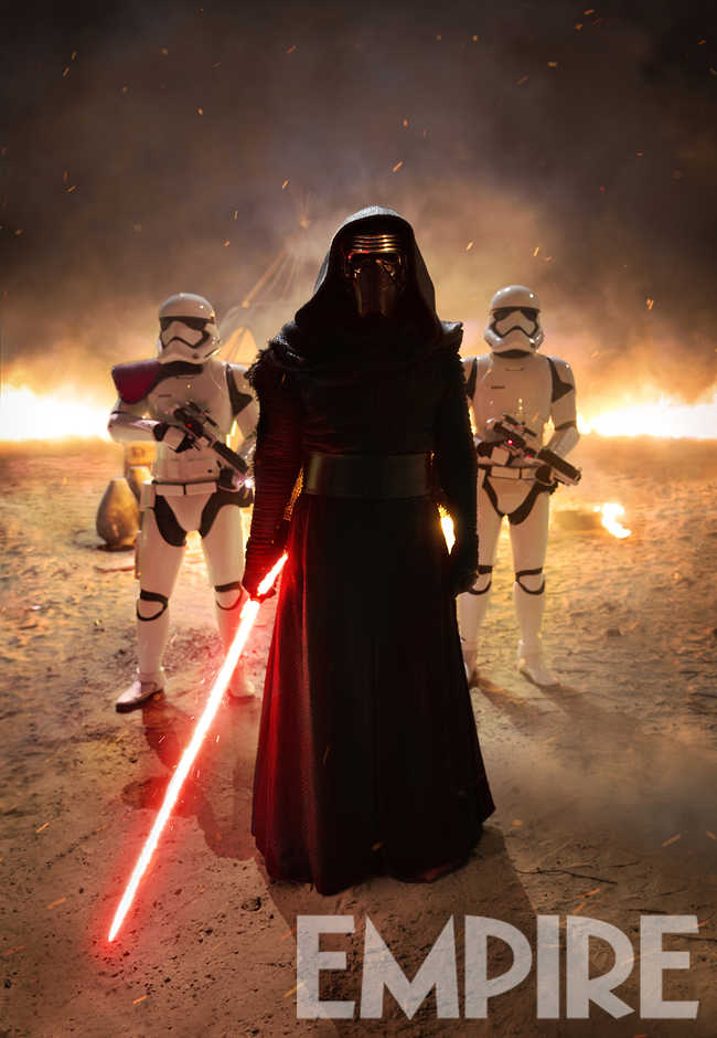 Empire Debuts New Look At Kylo Ren In Star Wars: The Force Awakens