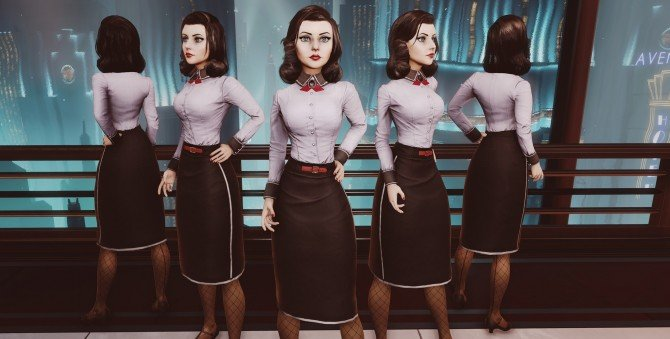 BioShock Infinite: Burial At Sea Gives Elizabeth A New Look