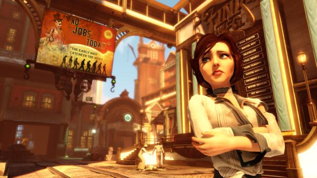 Elizabeth Bioshock: Infinite, Choice And The State Of Storytelling In Games
