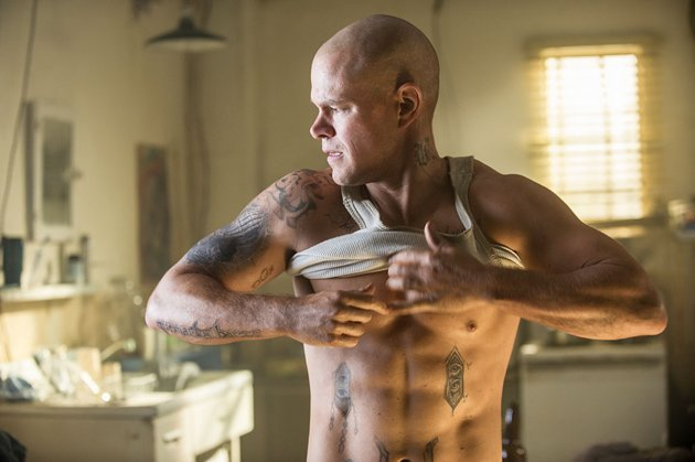 Matt Damon Wakes Up In New Elysium Clip, And Jodie Foster Was A Man