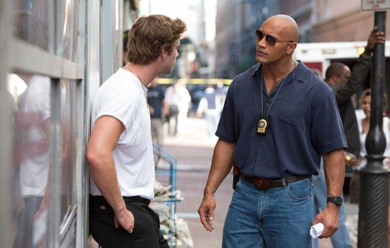 First Trailer For Empire State With Dwayne Johnson And Liam Hemsworth