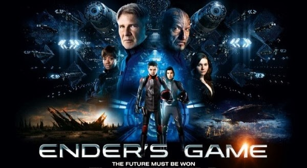 Enders Game UK poster