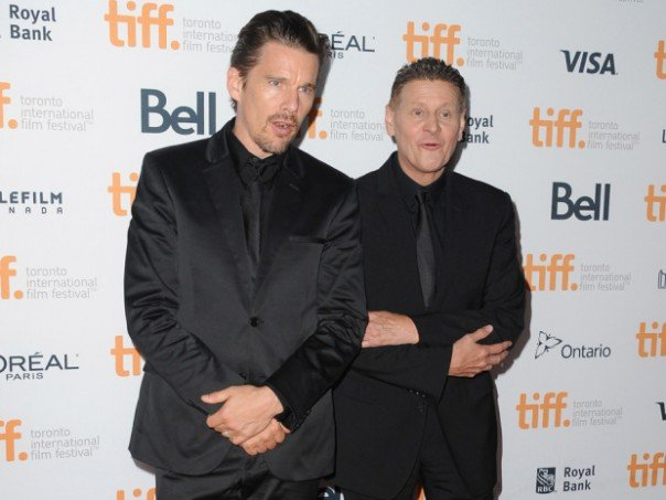 Ethan Hawke and Andrew Niccol for Good Kill