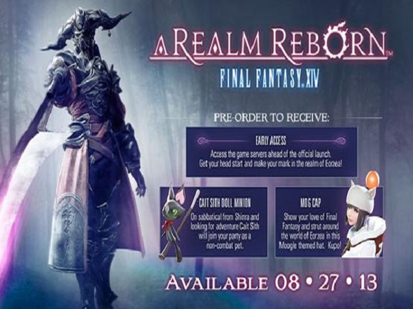 FFXIV ExperiencePage Final Fantasy XIV: A Realm Reborn Early Access Begins