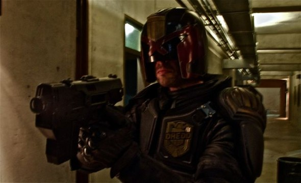 First Look At Karl Urban As Judge Dredd