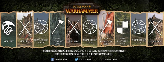 Creative Assembly Details Free DLC Plans For Total War: Warhammer