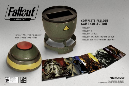 Fallout Anthology Bundles Together Five Classic RPGs, Due To Release This Fall