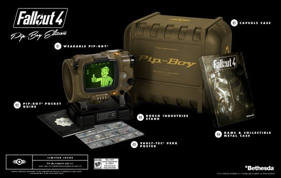 "Fallout 4 Was ""Basically Done"" Prior To Reveal; Bethesda Manufactured A ""Sh*tload"" Of Pip-Boy Editions"