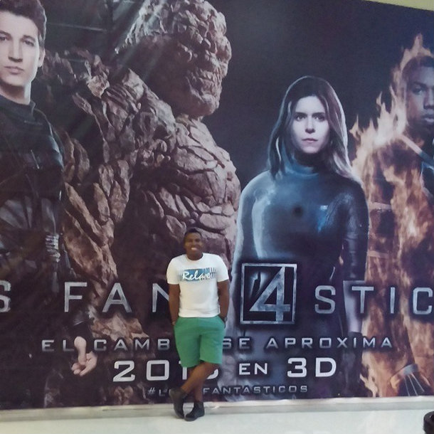New Fantastic Four Poster Showcases Jamie Bell's The Thing