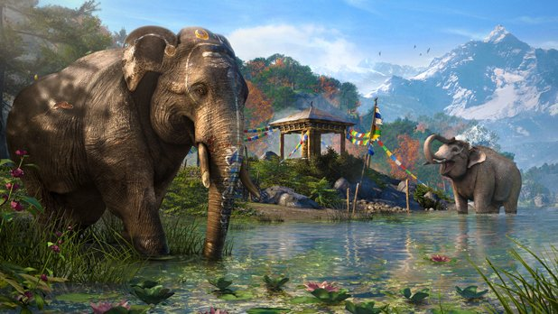 fight tigers and elephants in far cry 4 u0026 39 s arena mode