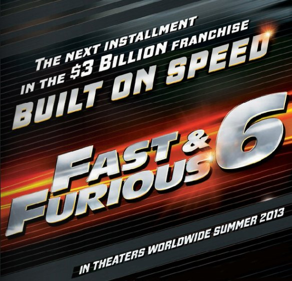 First Promo Photo For Fast & Furious 6