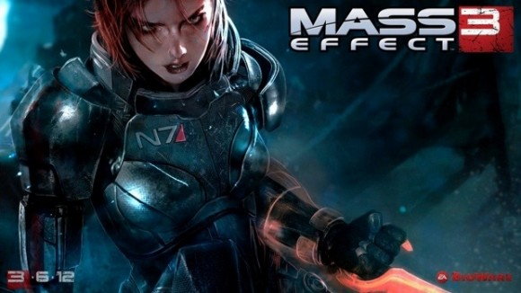 Mass Effect 3 Players: Here Is Your FemShep In Action