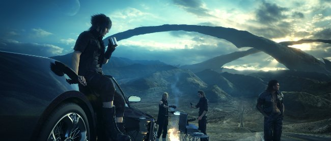 Final Fantasy XV's Map Is One Gigantic Open-World Environment