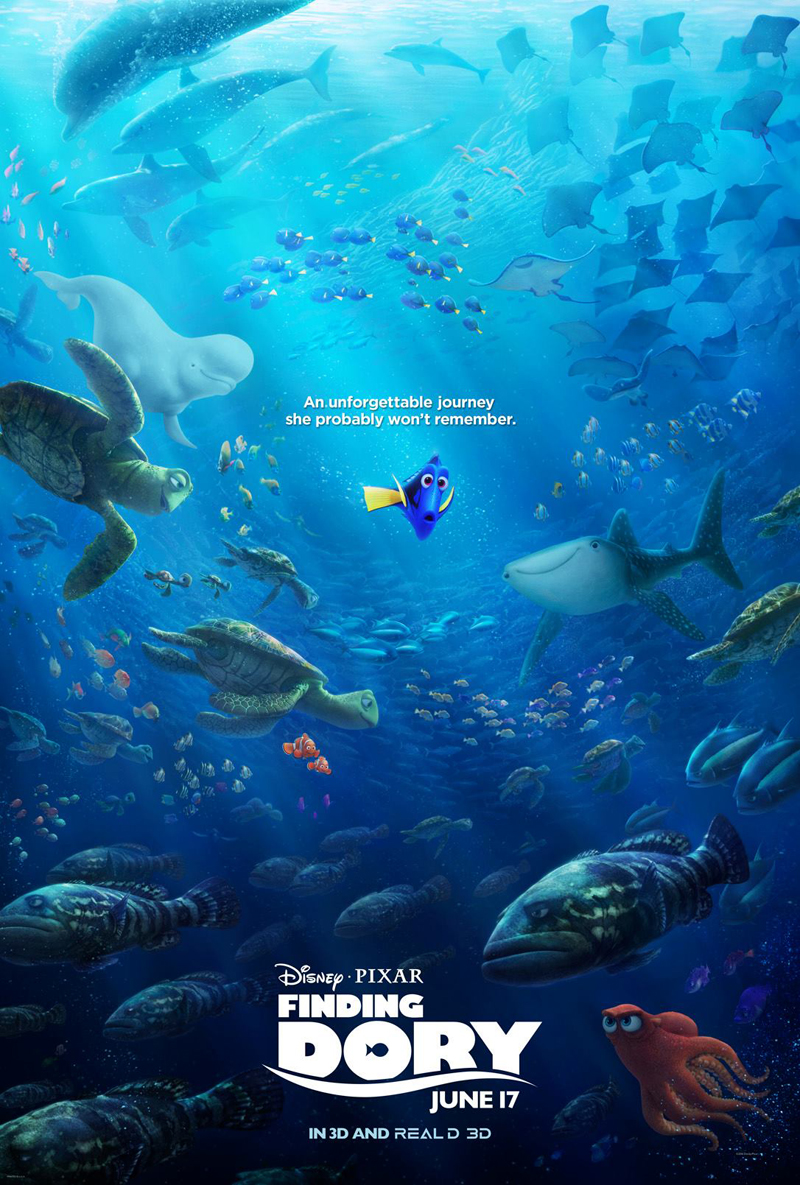 "Finding Dory Featurette Introduces Hank The Octopus, Pixar's ""Secret"" Easter Egg"