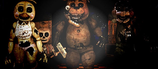 Five Nights At Freddy's 4 Free Halloween Update Hits