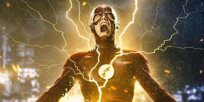 The Fastest Man Alive Stands Tall On New Poster For The Flash Season 2