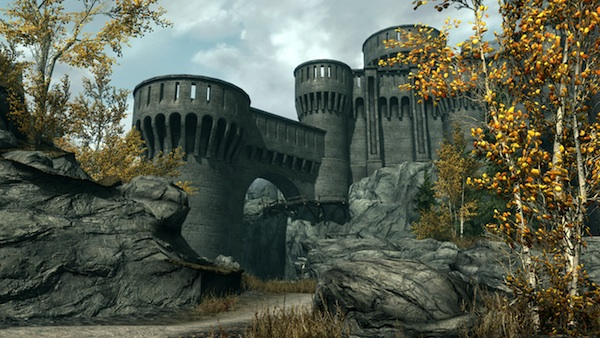 FortDawnguard The Elder Scrolls V: Skyrim   Dawnguard DLC Review