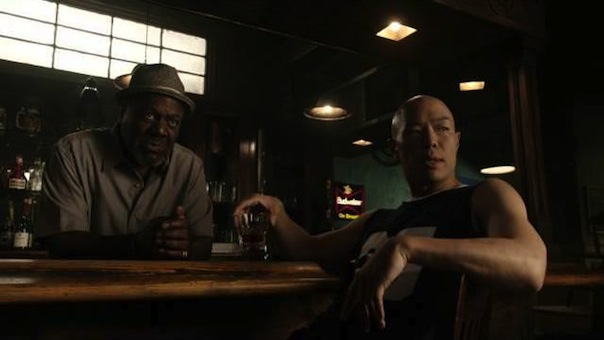 Frankie Faison and Hoon Lee in Banshee