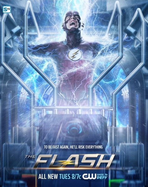 new posters for arrow and the flash tease each of the hero s futures