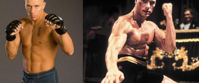 Georges St-Pierre Dreams About Superfight With Jean-Claude Van Damme