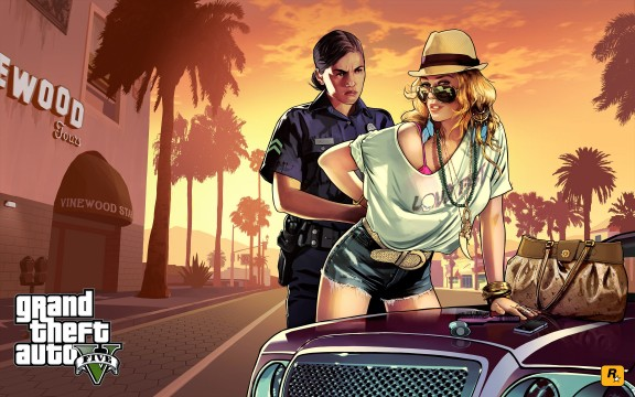 GTA 5 girls 576x360 5 Incredibly Controversial Moments From Grand Theft Auto Games