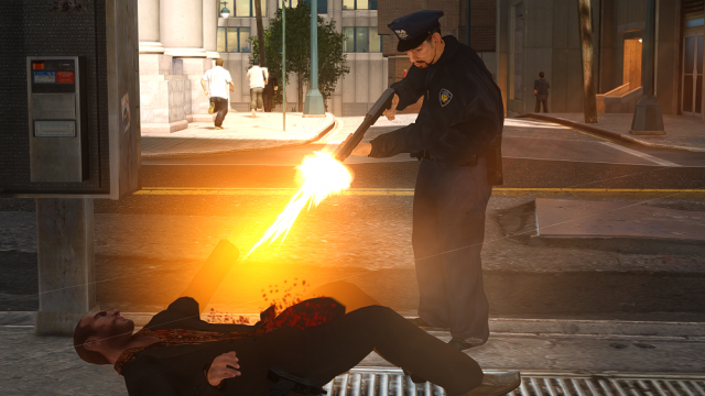 GTA IV under arrest 640x360 7 Video Games That Have Terrible, Terrible Artificial Intelligence