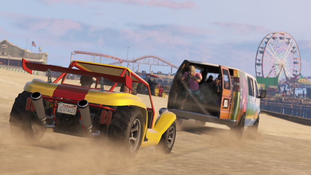 Beach Bum DLC Now Available For Grand Theft Auto Online