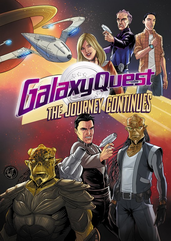 Galaxy Quest To Get A Sequel Comic In 2015