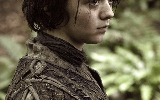 Game of Thrones Arya Stark 510x321 Game of Thrones Releases New Images Of Its Season 3 Characters