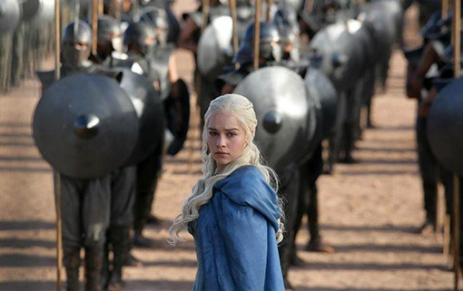 Game of Thrones Danaerys and the Unsullied 510x321 Game of Thrones Releases New Images Of Its Season 3 Characters