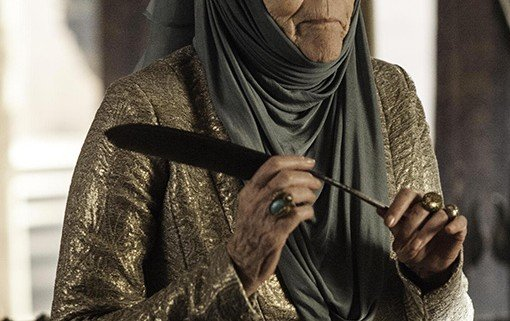 Game of Thrones Olenna Redwyne 510x321 Game of Thrones Releases New Images Of Its Season 3 Characters