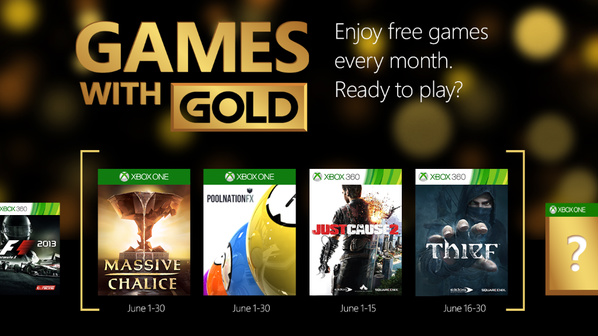Games With Gold For June 2015 Includes Double Fine's Massive Chalice And Just Cause 2