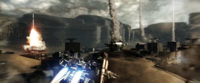 New Armored Core V Screens And Trailer From Gamescom