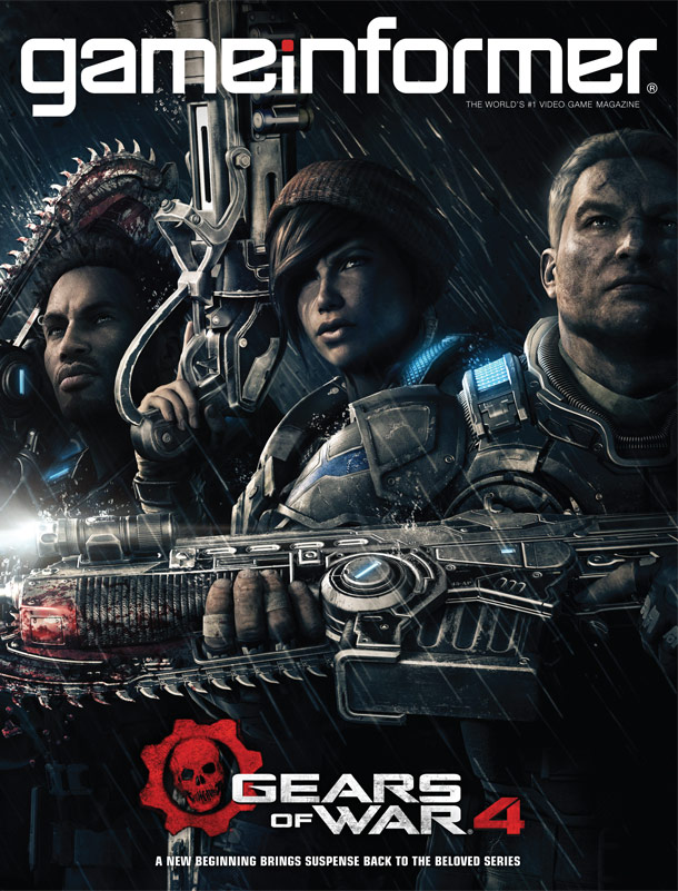 Gears Of War 4 Is The Cover Star Of April's Game Informer, Voice Cast Revealed