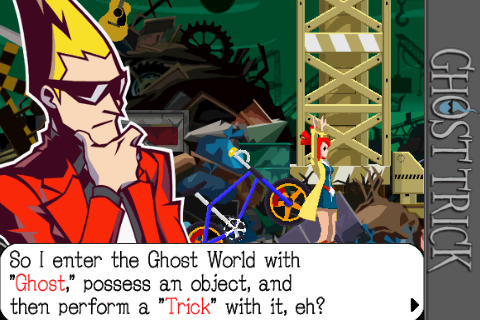 Ghost Trick Now Available For iOS